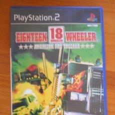 Videojuegos y Consolas: PS2 EIGHTEEN 18 WHEELER - AMERICAN PRO TRUCKER - PAL ESPAÑA - PLAYSTATION 2 (B5). Lote 105341235