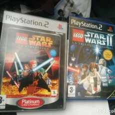 Videojuegos y Consolas: 2 JUEGOS PLAYSTATION 2 LEGO STAR WARS. Lote 105882871