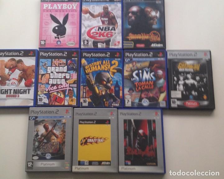 LOTE : 11 JUEGOS PS2 /PAL (Juguetes - Videojuegos y Consolas - Sony - PS2)