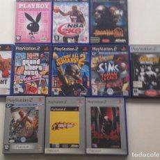 Videojuegos y Consolas: LOTE : 11 JUEGOS PS2 /PAL. Lote 106915587