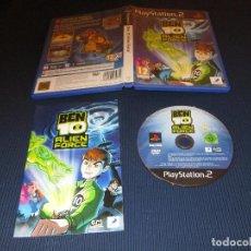 Videojuegos y Consolas: BEN 10 ( ALIEN FORCE ) - PS2 - SIENTE LA FUERZA - PAL. Lote 107674011
