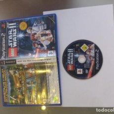 Videojuegos y Consolas: PS2 PLAYSTATION 2 LEGO STAR WARS II 2 LA TRILOGIA ORIGINAL PAL-ESPAÑA. Lote 107720283