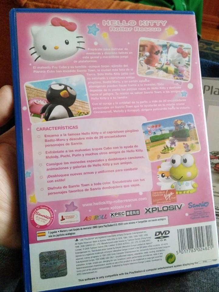 Videojuegos y Consolas: JUEGO PS2 HELLO KITTY - Foto 2 - 107756079