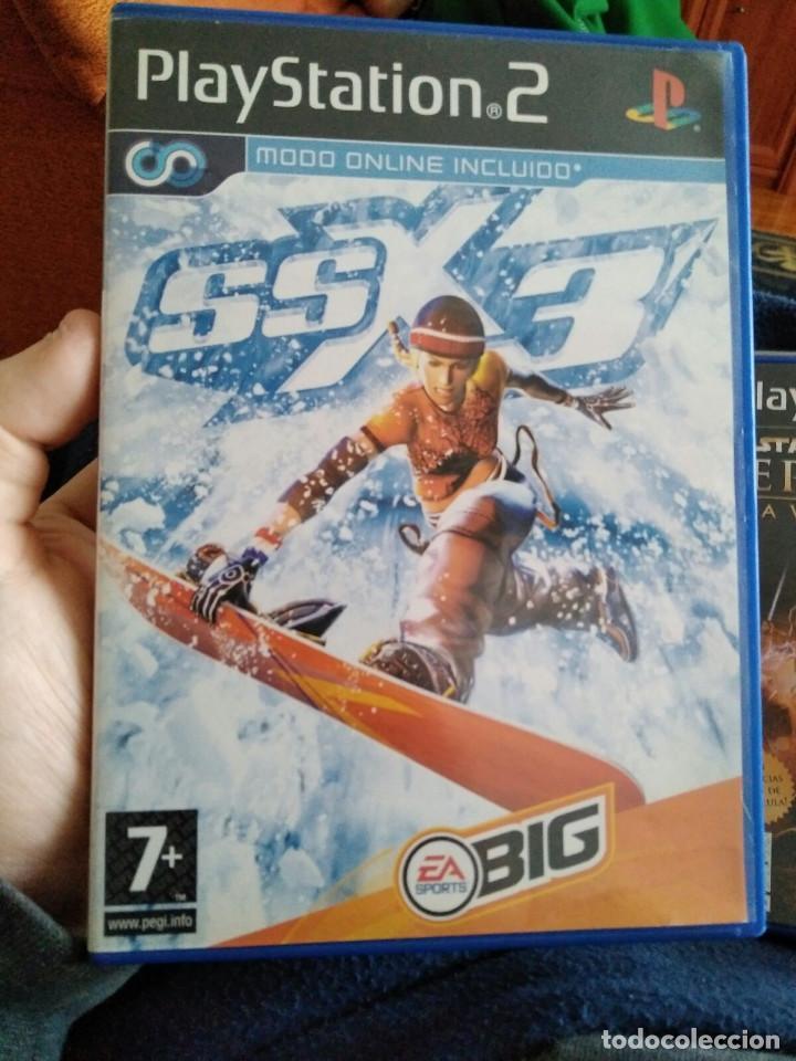 JUEGO PS2 SSX 3 (Juguetes - Videojuegos y Consolas - Sony - PS2)