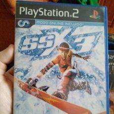 Videojuegos y Consolas: JUEGO PS2 SSX 3. Lote 107757499