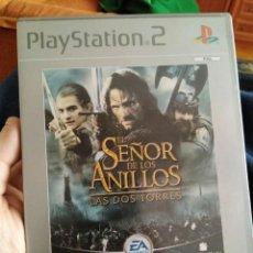 Videojuegos y Consolas: JUEGO PS2 EL SEÑOR DE LOS ANILLOS . Lote 107757719