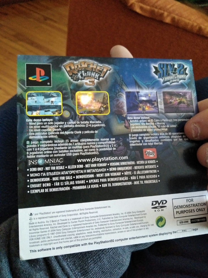 Videojuegos y Consolas: JUEGO PS2 DEMO - Foto 3 - 107758855