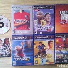 Videojuegos y Consolas: LOTE 7 JUEGOS + 1 DEMO PS2 - GRAND THEFT AUTO VICE CITY. Lote 107811871
