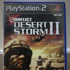 Videojuegos y Consolas: CONFLICT DESERT STORM II 2 - PLAYSTATION 2 PS2. Lote 108454630
