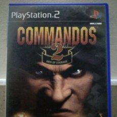 Jeux Vidéo et Consoles: COMMANDOS 2 - PLAYSTATION 2 PS2. Lote 108455332