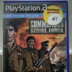 Jeux Vidéo et Consoles: COMMANDOS STRIKE FORCE - PLAYSTATION 2 PS2. Lote 108455647