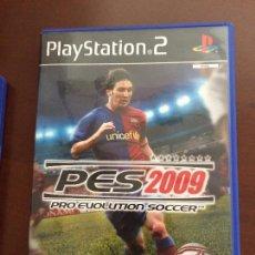 Videojuegos y Consolas: PES 2008 PRO EVOLUTION SOCCER PS2 PAL ESPAÑA. Lote 108731063