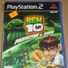 Videojuegos y Consolas: PLAYSTATION 2 - BEN 10 PROTECTOR OF EARTH - LEER. Lote 109261435