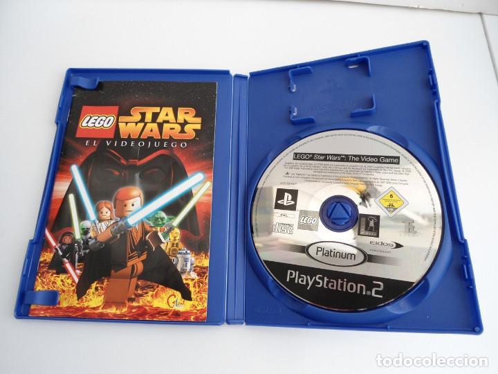STAR WARS LEGO - SONY PS2 - PLAYSTATION 2 - COMPLETO CON INSTRUCCIONES - MUY BUEN ESTADO (Juguetes - Videojuegos y Consolas - Sony - PS2)