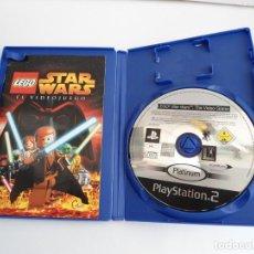 Videojuegos y Consolas: STAR WARS LEGO - SONY PS2 - PLAYSTATION 2 - COMPLETO CON INSTRUCCIONES - MUY BUEN ESTADO. Lote 109472211