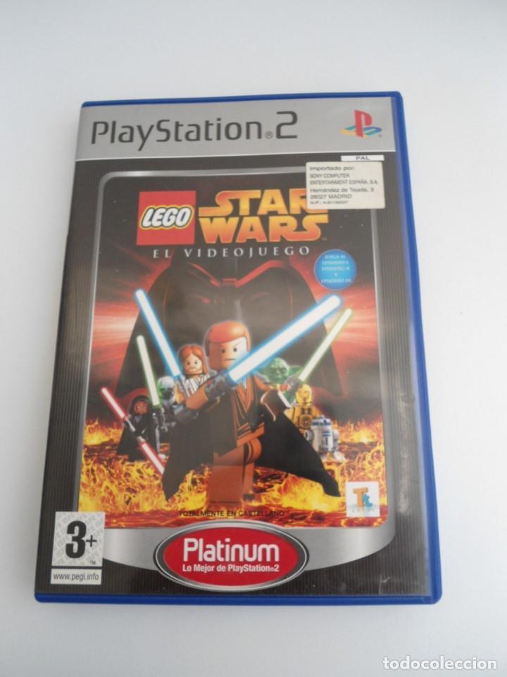 Videojuegos y Consolas: STAR WARS LEGO - SONY PS2 - PLAYSTATION 2 - COMPLETO CON INSTRUCCIONES - MUY BUEN ESTADO - Foto 2 - 109472211
