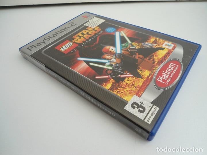 Videojuegos y Consolas: STAR WARS LEGO - SONY PS2 - PLAYSTATION 2 - COMPLETO CON INSTRUCCIONES - MUY BUEN ESTADO - Foto 3 - 109472211