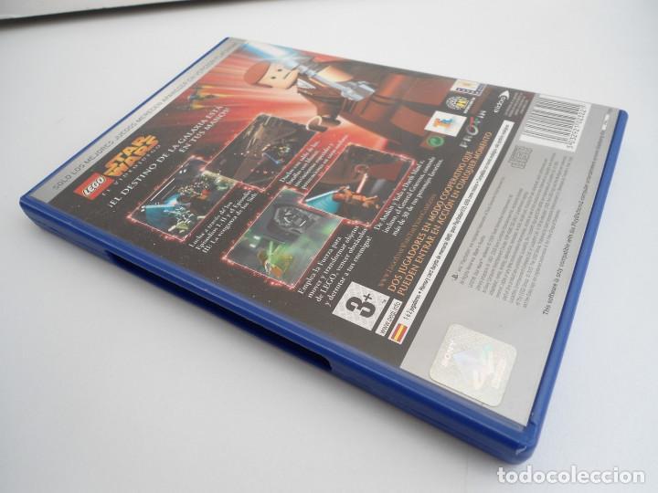 Videojuegos y Consolas: STAR WARS LEGO - SONY PS2 - PLAYSTATION 2 - COMPLETO CON INSTRUCCIONES - MUY BUEN ESTADO - Foto 4 - 109472211