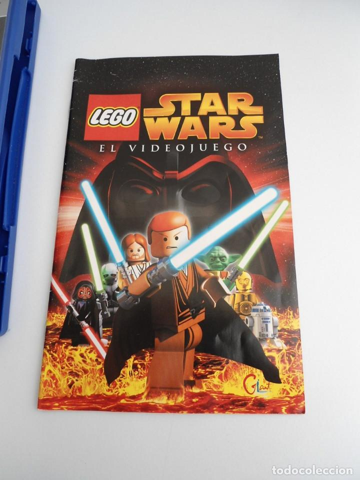 Videojuegos y Consolas: STAR WARS LEGO - SONY PS2 - PLAYSTATION 2 - COMPLETO CON INSTRUCCIONES - MUY BUEN ESTADO - Foto 5 - 109472211