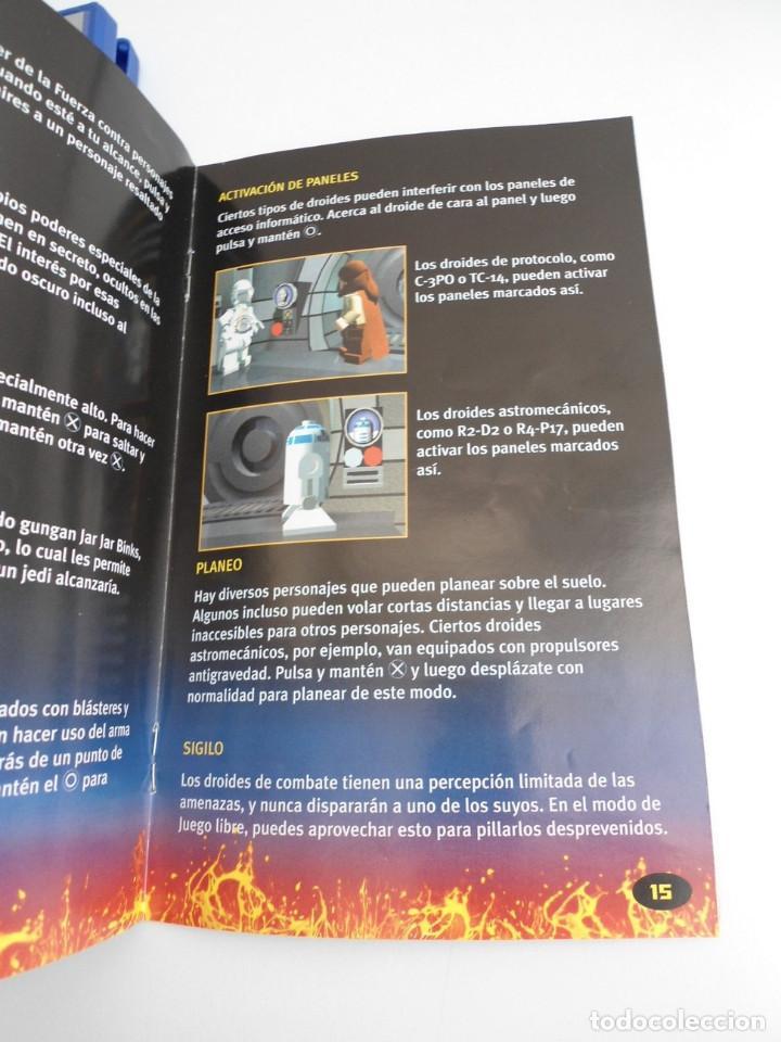 Videojuegos y Consolas: STAR WARS LEGO - SONY PS2 - PLAYSTATION 2 - COMPLETO CON INSTRUCCIONES - MUY BUEN ESTADO - Foto 6 - 109472211