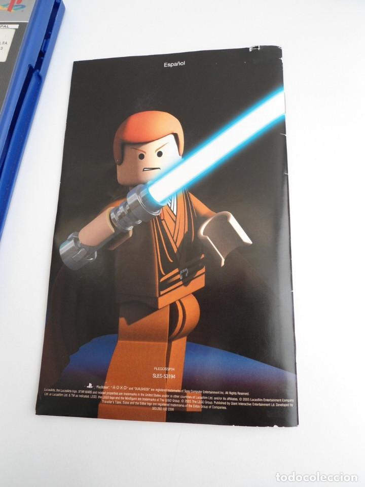 Videojuegos y Consolas: STAR WARS LEGO - SONY PS2 - PLAYSTATION 2 - COMPLETO CON INSTRUCCIONES - MUY BUEN ESTADO - Foto 7 - 109472211