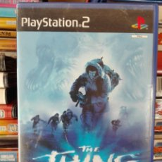 Videojuegos y Consolas: THE THING LA COSA PLAYSTATION 2 SIN MANUAL. Lote 109781295