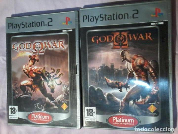 GOD OF WAR I y II PARA SONY PLAYSTATION 2 COMPLETOS CON CAJA Y MANUAL