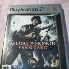 Videojuegos y Consolas: MEDAL OF HONOR VANGUARD PARA PLAYSTATION 2. Lote 110058247