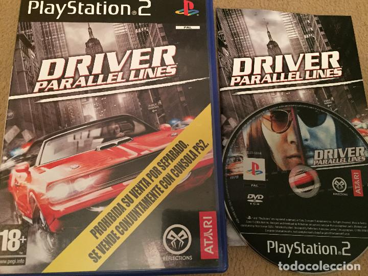 Driver parallel lines ps2 playstation 2 play st - Sold