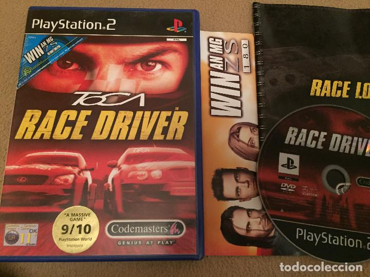 TOCA RACE DRIVER PS2 PLAYSTATION 2 PLAY STATION TWO KREATEN