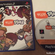Videojuegos y Consolas: EYE TOY PLAY PS2 PLAYSTATION 2 PLAY STATION TWO KREATEN. Lote 111048843