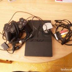 Videojuegos y Consolas: PLAY STATION 2 + 1 MANDO + CABLES + CAMARA EYE TOY. Lote 111197563
