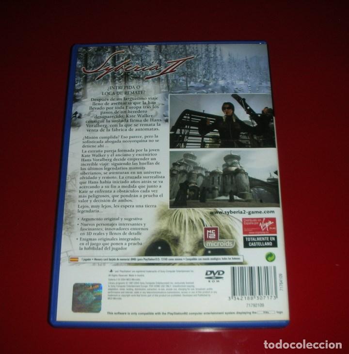 Videojuegos y Consolas: SYBERIA II , B. SOKAL . PS2 / PLAYSTATION 2. Nuevo, nunca jugado . PAL - Foto 4 - 111374527