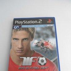 Videojuegos y Consolas: ESTO ES FUTBOL 2004 - SONY PS2 - PLAYSTATION 2 - EDICION ESPECIAL PROMO - DISCO PROMOCIONAL - RARO. Lote 111741103
