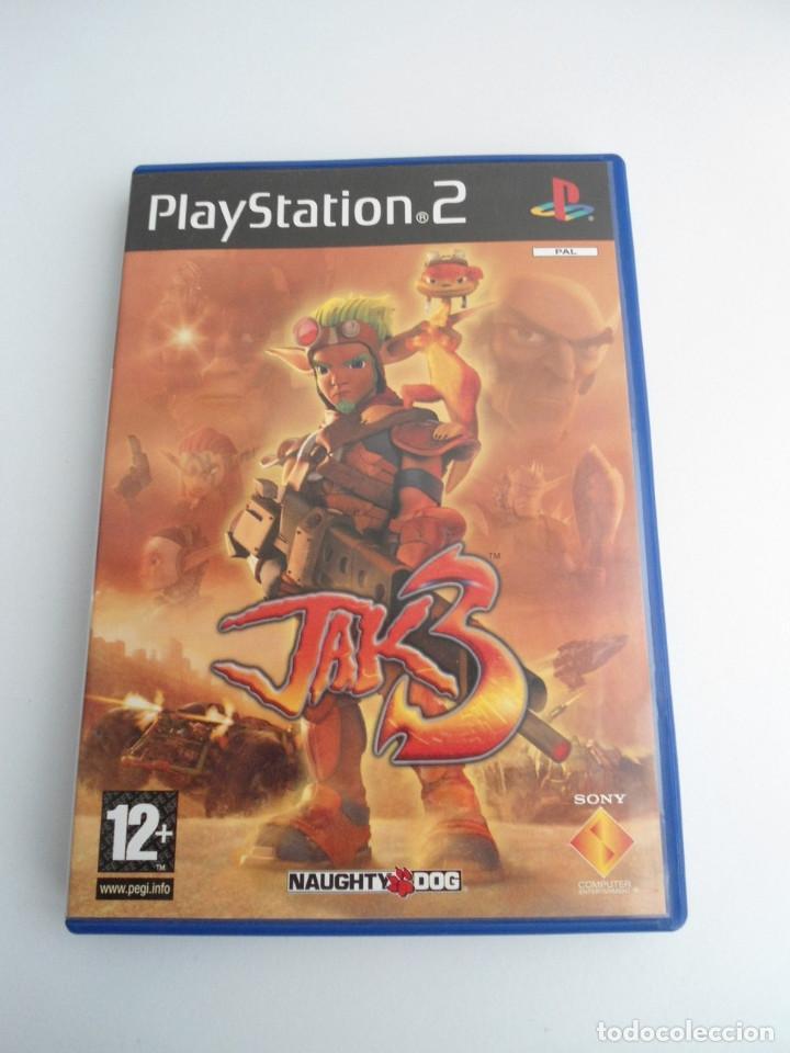 JAK 3 - SONY PS2 - PLAYSTATION 2 - EDICION ESPECIAL PROMO - DISCO PROMOCIONAL - RARO (Juguetes - Videojuegos y Consolas - Sony - PS2)