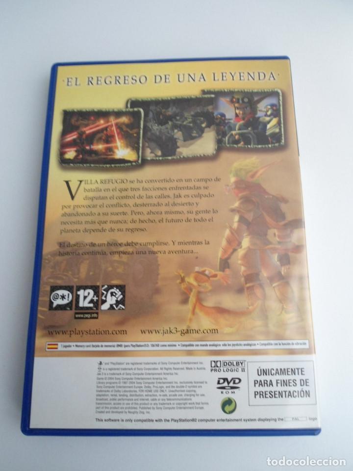 Videojuegos y Consolas: JAK 3 - SONY PS2 - PLAYSTATION 2 - EDICION ESPECIAL PROMO - DISCO PROMOCIONAL - RARO - Foto 5 - 111741211