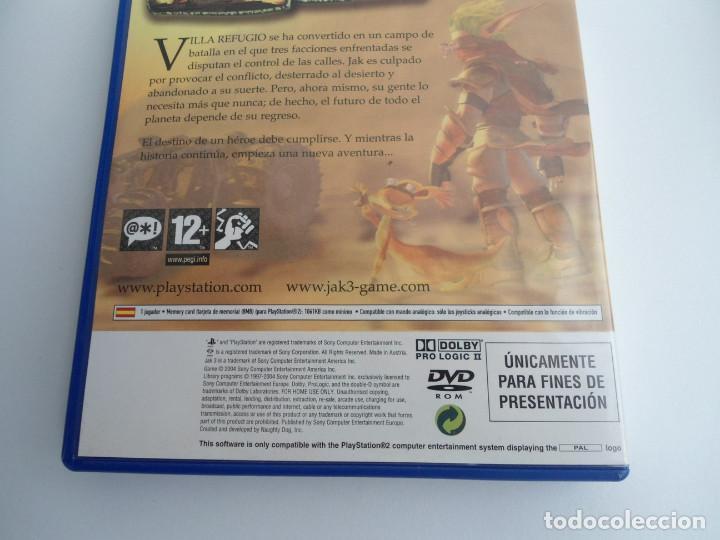 Videojuegos y Consolas: JAK 3 - SONY PS2 - PLAYSTATION 2 - EDICION ESPECIAL PROMO - DISCO PROMOCIONAL - RARO - Foto 7 - 111741211