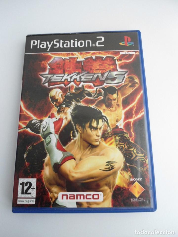 TEKKEN 5 - SONY PS2 - PLAYSTATION 2 - EDICION ESPECIAL PROMO - DISCO PROMOCIONAL - RARO (Juguetes - Videojuegos y Consolas - Sony - PS2)