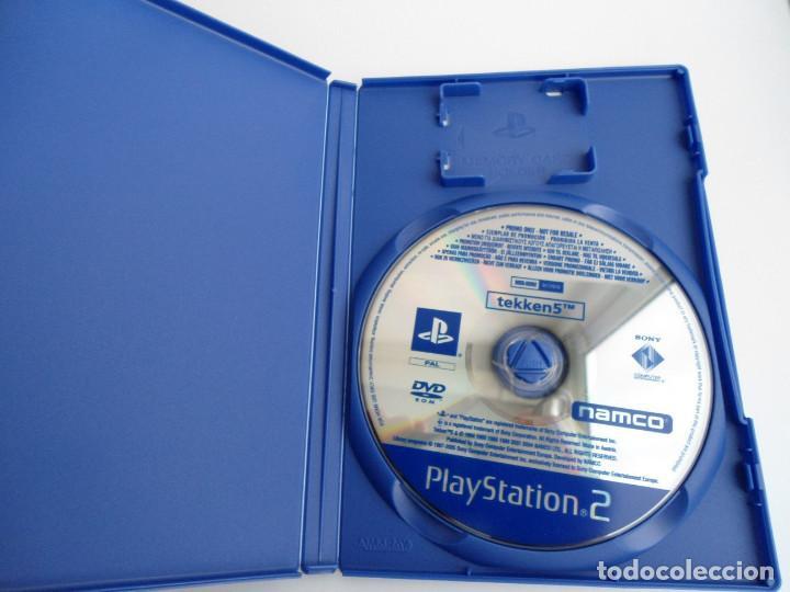 Videojuegos y Consolas: TEKKEN 5 - SONY PS2 - PLAYSTATION 2 - EDICION ESPECIAL PROMO - DISCO PROMOCIONAL - RARO - Foto 2 - 111741243