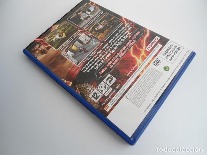 Videojuegos y Consolas: TEKKEN 5 - SONY PS2 - PLAYSTATION 2 - EDICION ESPECIAL PROMO - DISCO PROMOCIONAL - RARO - Foto 4 - 111741243