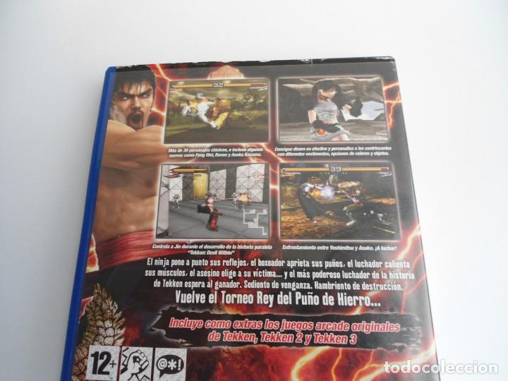Videojuegos y Consolas: TEKKEN 5 - SONY PS2 - PLAYSTATION 2 - EDICION ESPECIAL PROMO - DISCO PROMOCIONAL - RARO - Foto 5 - 111741243