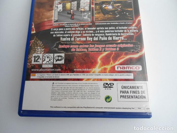 Videojuegos y Consolas: TEKKEN 5 - SONY PS2 - PLAYSTATION 2 - EDICION ESPECIAL PROMO - DISCO PROMOCIONAL - RARO - Foto 6 - 111741243