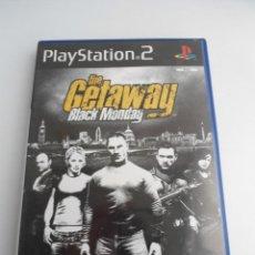Videojuegos y Consolas: THE GETAWAY BLACK MONDAY - SONY PS2 - PLAYSTATION 2 - EDICION ESPECIAL PROMO -DISCO PROMOCIONAL RARO. Lote 111741343