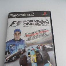 Videojuegos y Consolas: F1 FORMULA ONE 2003 - SONY PS2 - PLAYSTATION 2 - EDICION ESPECIAL PROMO - DISCO PROMOCIONAL - RARO. Lote 111741739