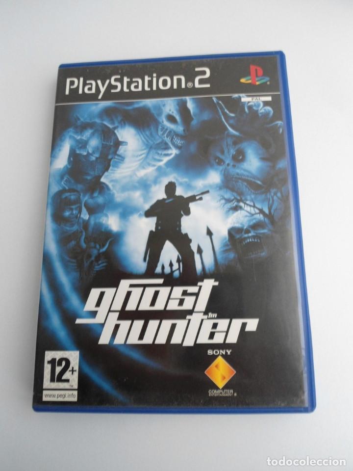GHOSTHUNTER - SONY PS2 - PLAYSTATION 2 - EDICION ESPECIAL PROMO - DISCO PROMOCIONAL - RARO (Juguetes - Videojuegos y Consolas - Sony - PS2)