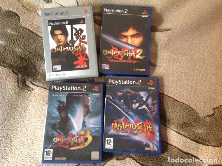ONIMUSHA 4 JUEGOS. (Juguetes - Videojuegos y Consolas - Sony - PS2)