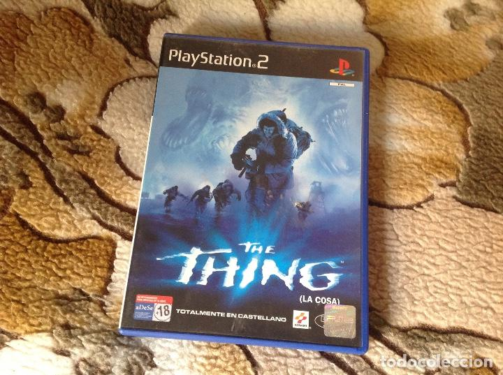 THE THING LA COSA. (Juguetes - Videojuegos y Consolas - Sony - PS2)