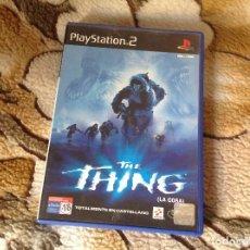 Videojuegos y Consolas: THE THING LA COSA.. Lote 111952111