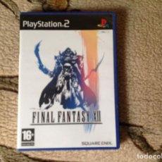 Videojuegos y Consolas: FINAL FANTASY XLL. Lote 111952619