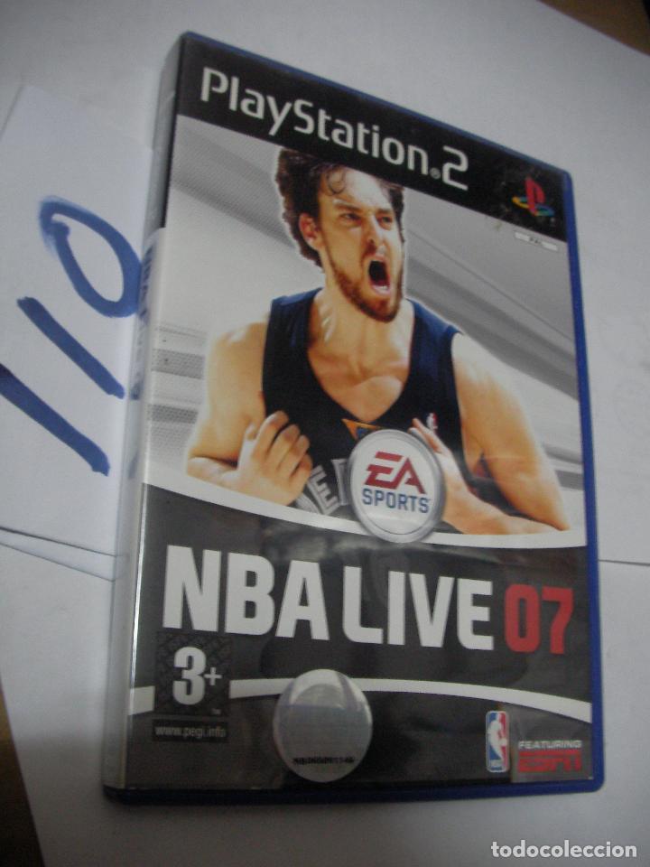 ANTIGUO JUEGO PS2 - NBA LIVE 07 (Juguetes - Videojuegos y Consolas - Sony - PS2)